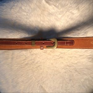 Cole Haan Brown Leather Belt Size 38